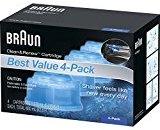 Braun Clean & Renew Refill Cartridges CCR ,4 Count