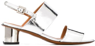 Clergerie Leonie 50mm metallic sandals