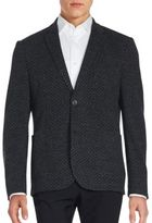 Sand Medallion Pattern Cotton & Virgin Wool Sportcoat