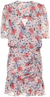 Veronica Beard Dakota floral silk minidress
