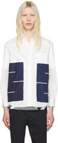 Blue Blue Japan White Boxes Shirt