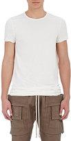 Rick Owens Men's Elongated T-Shirt-WHITE