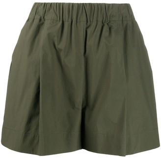 P.A.R.O.S.H. Canyon poplin shorts