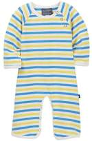 Toobydoo Emery Striped Footie (Baby Boys)