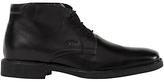 Geox Londra Leather Chukka Boots, Black
