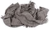 Forte Forte Forte_Forte Woven Fringed Scarf