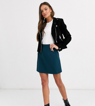 Asos DESIGN Petite tailored a-line mini skirt