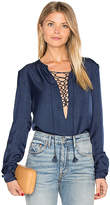 The Jetset Diaries Souks Top in Navy. - size S (also in XS)