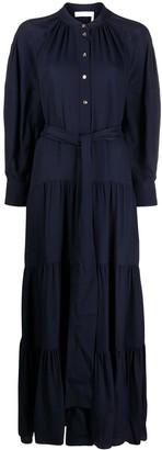 Chloé Tie-Waist Maxi Dress