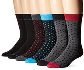 Ben Sherman Men's Six-Pack Oliver Crew Socks