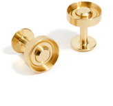 Alice Made This Dawson Gold Plated Brass Cufflinks
