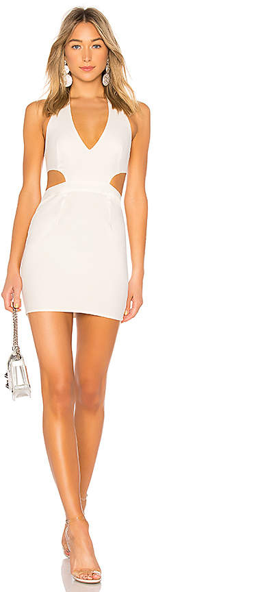by the way. Sovoy Halter Mini Dress