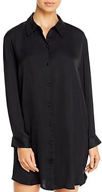 Josie Bardot Satin Sleepshirt