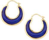 Lapis Syna Luna 18k Lazuli Earrings