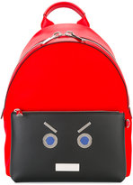 Fendi embellished backpack - men - Polyamide/Polyester/Polyurethane/Spandex/Elastane - One Size