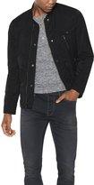 John Varvatos Men's Bomber Jacket - Black