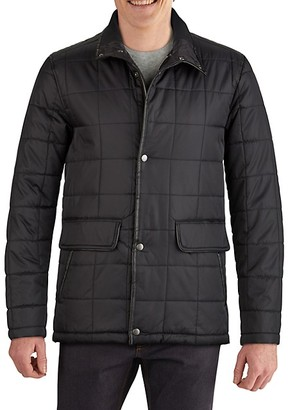 Cole Haan Insulated Box Quilt Jacket