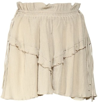 Etoile Isabel Marant Itelo Cotton & Viscose Mini Skirt