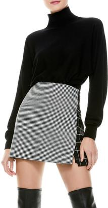 Alice + Olivia Dia Slouchy Dolman-Sleeve Sweater