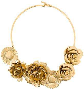 Aurélie Bidermann Selena statement flower necklace