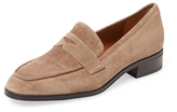 Aquatalia Sharon Suede Penny Loafer