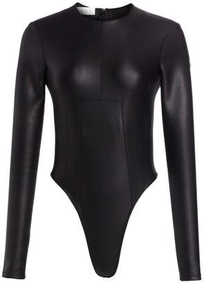 TRE by Natalie Ratabesi The Venus Vegan Leather Bodysuit