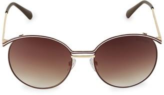 Balmain 55MM Round Sunglasses