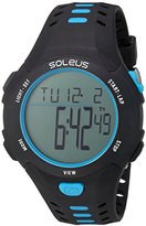 Soleus 'Contender' Quartz Plastic Running Watch