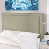 Everly Hayley Upholstered Panel Headboard Quinn Size: King, Upholstery: Portsmouth Stone