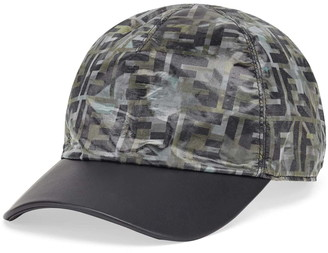 Fendi FF Camo Baseball Hat