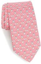 Salvatore Ferragamo Men's Debby Penguin Print Silk Tie