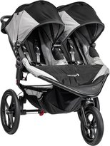 Baby Jogger Summit X3 Double Jogging Stroller - Green/Gray
