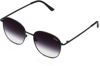 Quay Jezabell 57mm Round Sunglasses