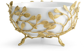 Michael Aram Mistletoe Porcelain Serving Bowl