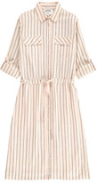 Swildens Sale - Qixia Striped Shirt Dress