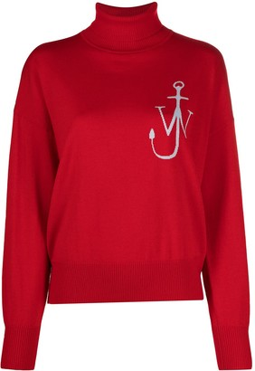 J.W.Anderson Anchor funnel neck jumper
