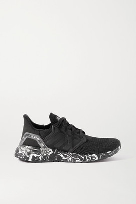 adidas Ultraboost 20 Glam Pack Rubber-trimmed Primeknit Sneakers - Black
