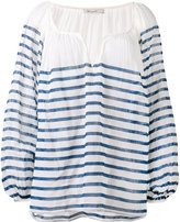 Mes Demoiselles striped blouse - women - Cotton - 34
