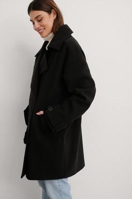 NA-KD Oversized Short Coat