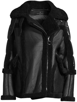 Nicole Benisti Montaigne Shearling Puffer Coat