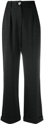 Giorgio Armani High-Waist Straight Trousers