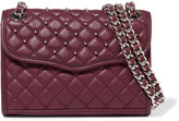 Rebecca Minkoff Affair mini studded quilted leather shoulder bag
