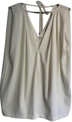 Plein Sud Jeans White Top for Women