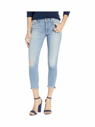 Lucky Brand Women's MID Rise AVA Crop Jean in Tybee Island 32 (US 14)