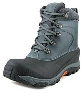 The North Face Chilkat Ii Men Round Toe Leather Gray Winter Boot.