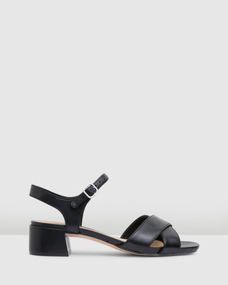 Clarks Women's Black Heeled Sandals - Sheer35 Strap - Size One Size, 4 at The Iconic