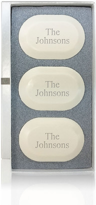 Carved Solutions Personalized Original Soap Trio - Name or Phrase