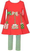 Bonnie Jean Ornament Dress and Leggings - Baby Girls newborn-24m