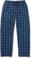 Derek Rose - Checked Cotton-flannel Pyjama Trousers