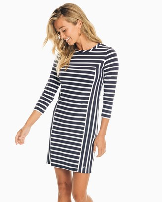Southern Tide Pippa Striped Performance Dress